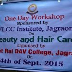 Workshop on Beauty and Hair Care by VLCC on Sept 04,2015